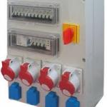 Bransament electric pentru organizare de santier
